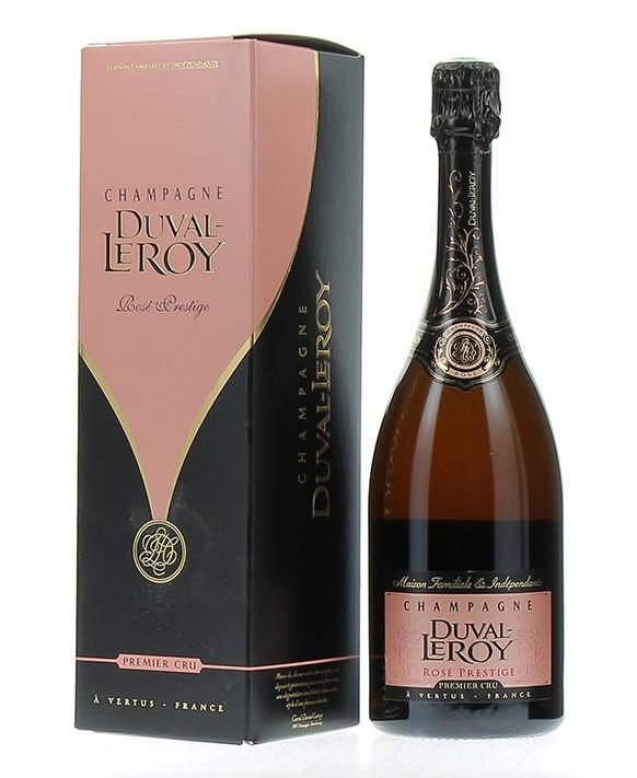Champagne Duval - Leroy Rosé Prestige 1er Cru coffret