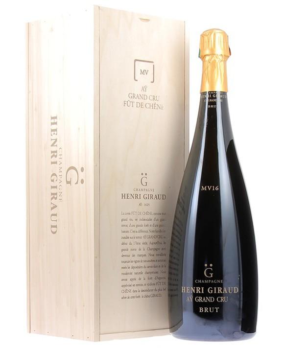 Champagne Henri Giraud Fût de chêne MV16 Jéroboam