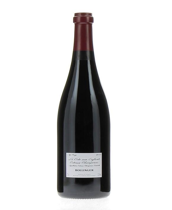 Champagne Bollinger Coteaux Champenois Aÿ Rouge 2015 la Côte aux Enfants
