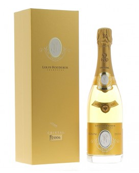 Champagne Louis Roederer Cristal 2006 coffret luxe