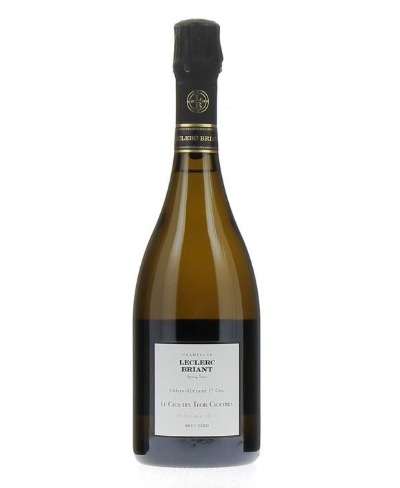 Champagne Leclerc Briant Le Clos des Trois Clochers 2015