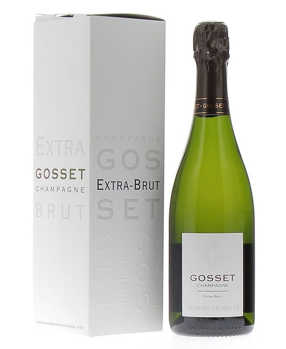 Champagne Gosset Extra-Brut Gif Box