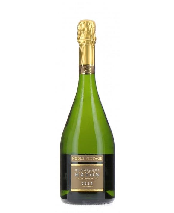 Champagne Jean-noel Haton Cuvée Noble Vintage Millésime 2015
