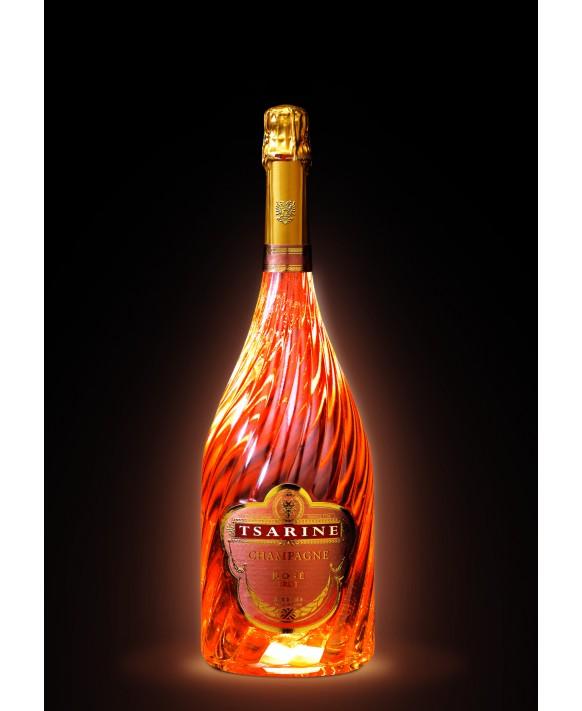 Champagne Tsarine Rosé lumineux Magnum
