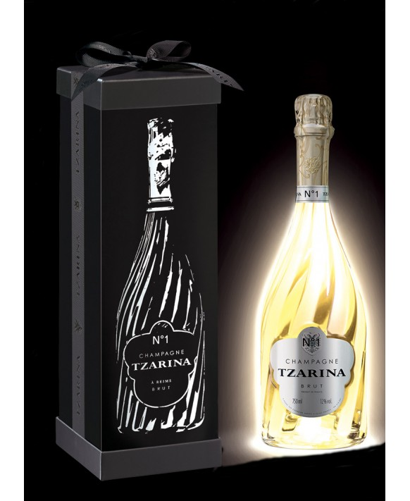 Champagne Tsarine Tzarina Lux coffret Magnum