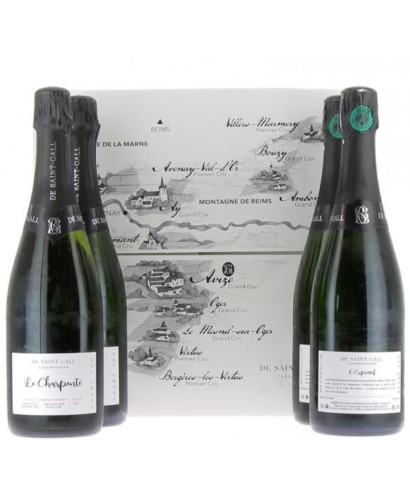 Champagne De Saint Gall Quadrilogie Influences 75cl