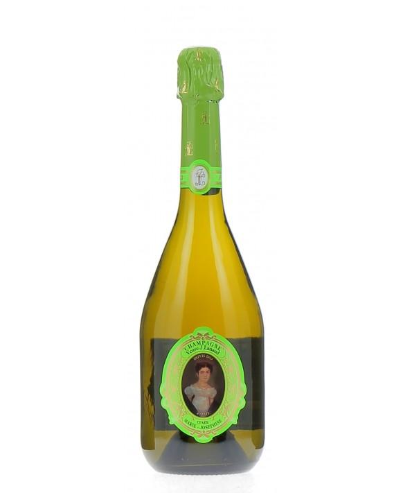 Champagne Veuve Lanaud Cuvée Marie-Joséphine grape harvest 2011