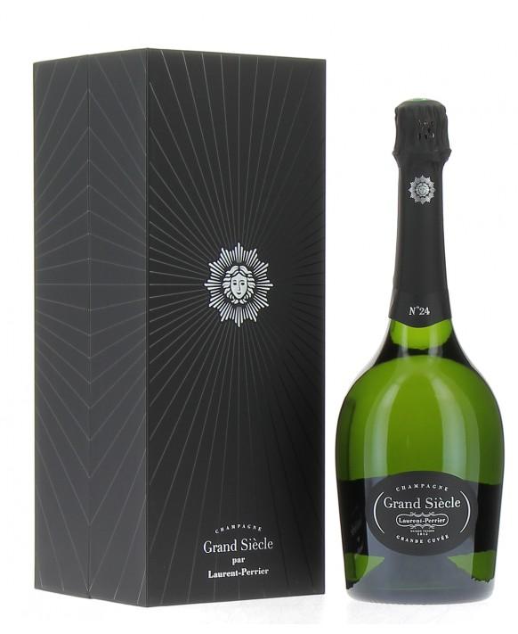 Champagne Laurent-perrier Grand Siècle itération N°24 luxury casket