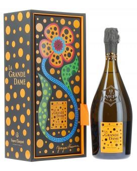 Champagne Veuve Clicquot La Grande Dame Blanc 2012 par Yayoi Kusama