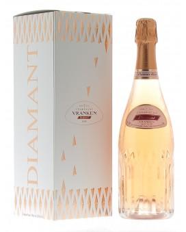 Champagne Diamant De Vranken Rosé casket