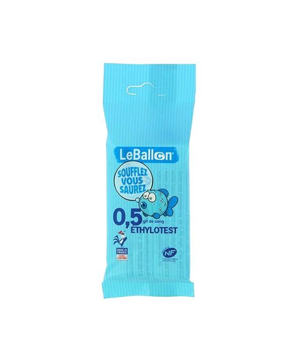 0.5g/l Single-use breathalyzer