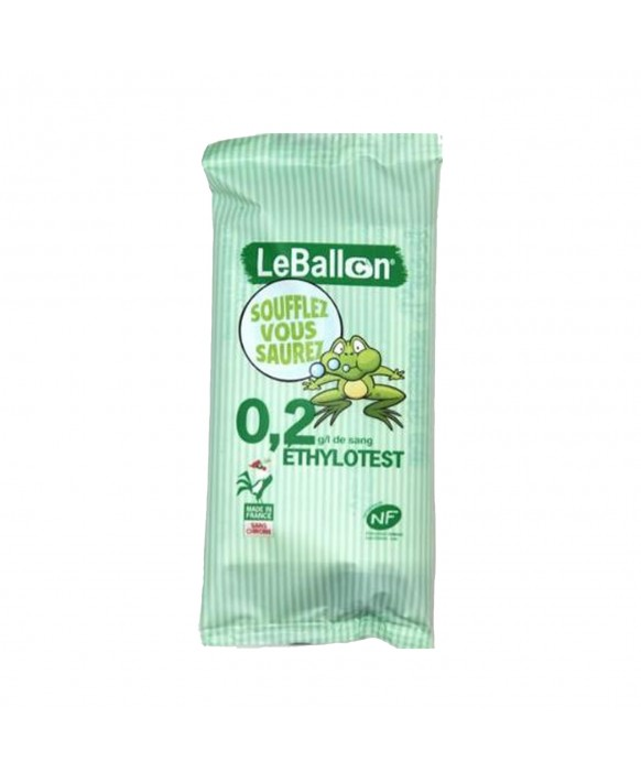 0.2g/l Single-use breathalyzer