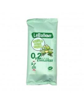 Ethylotest 0.2g/l à usage unique