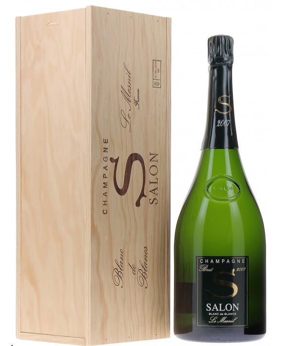 Champagne Salon S 2007 casket Magnum