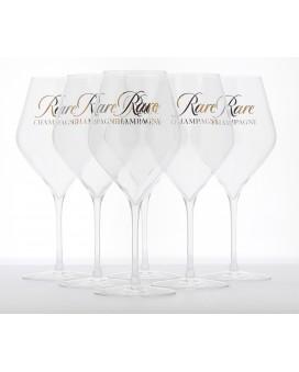 Champagne Rare Champagne Six verres à dégustation