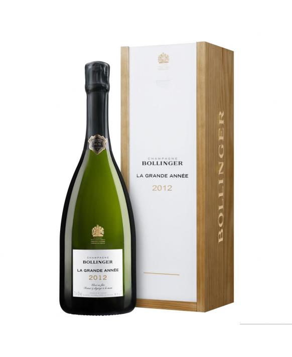 Champagne Bollinger Grande Année 2012
