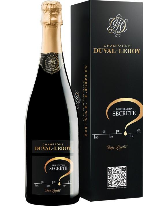 Champagne Duval - Leroy Secret Testing
