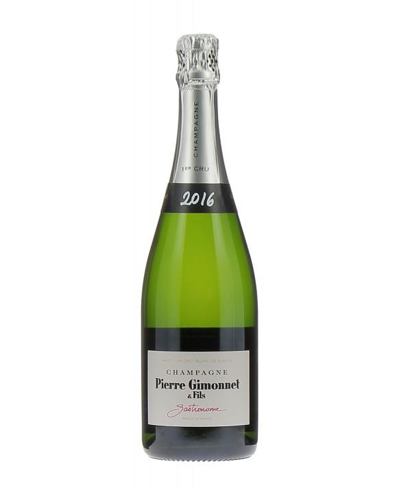 Champagne Pierre Gimonnet Brut Gastronome 2016 1er Cru