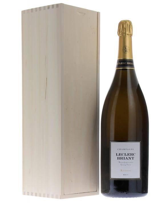 Champagne Leclerc Briant Brut Réserve Jéroboam