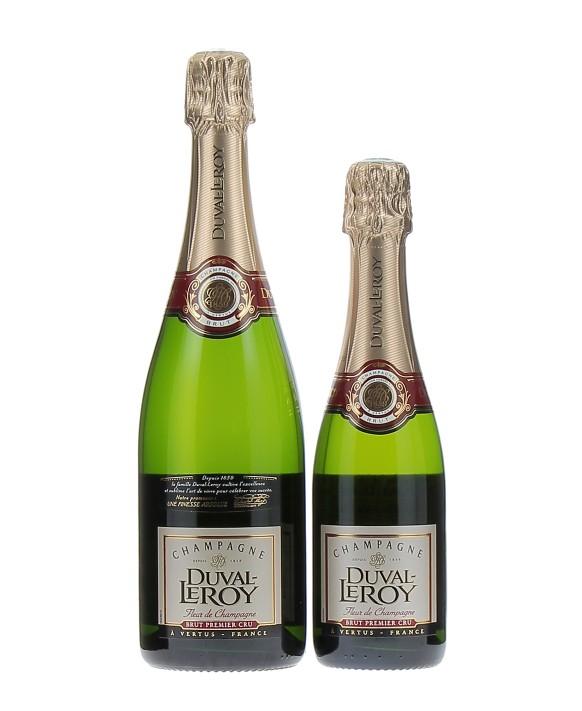 Champagne Duval - Leroy Fleur de Champagne Brut Premier Cru and half-bottle
