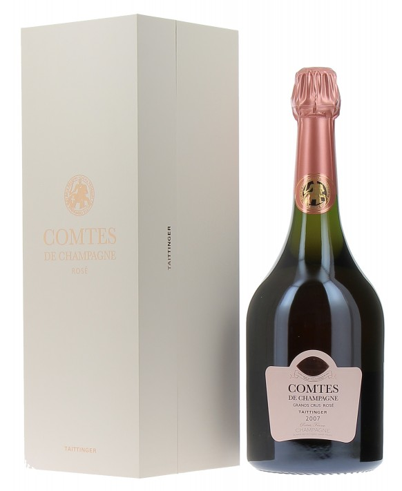 Champagne Taittinger Comtes de Champagne Rosé 2007 Magnum