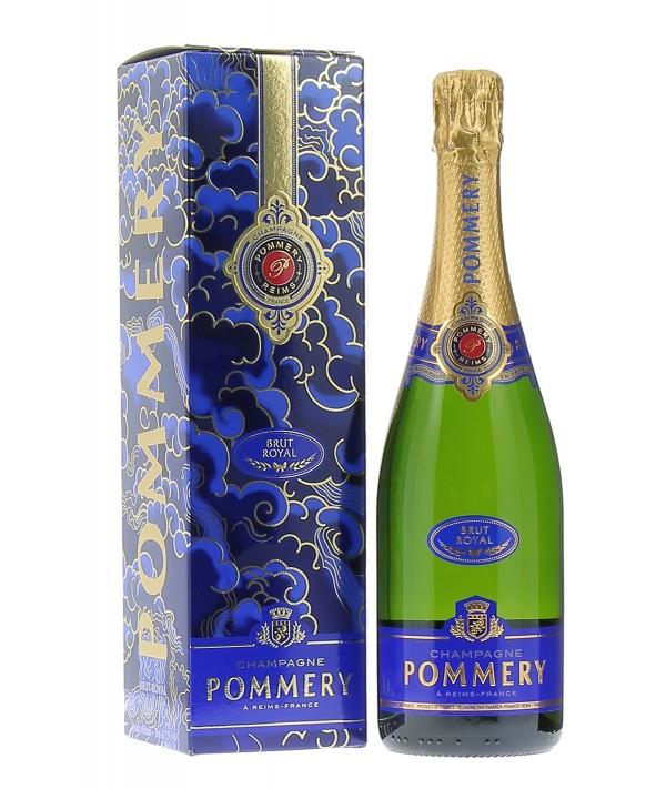Champagne Pommery Brut Royal gift box