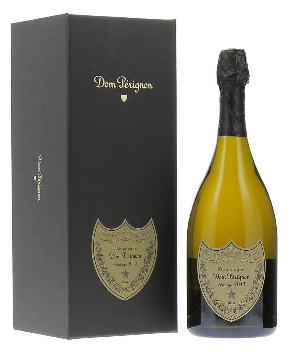 Champagne Dom Perignon Vintage 2012 casket