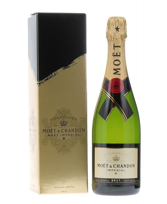 Champagne Moet Et Chandon Brut Impérial Limited Edition Gift Box