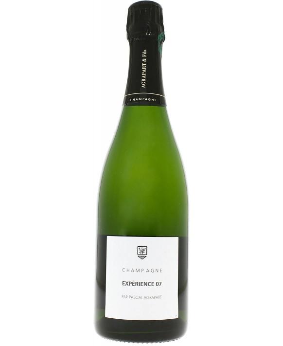 Champagne Agrapart Expérience 07 Brut Nature Grand Cru