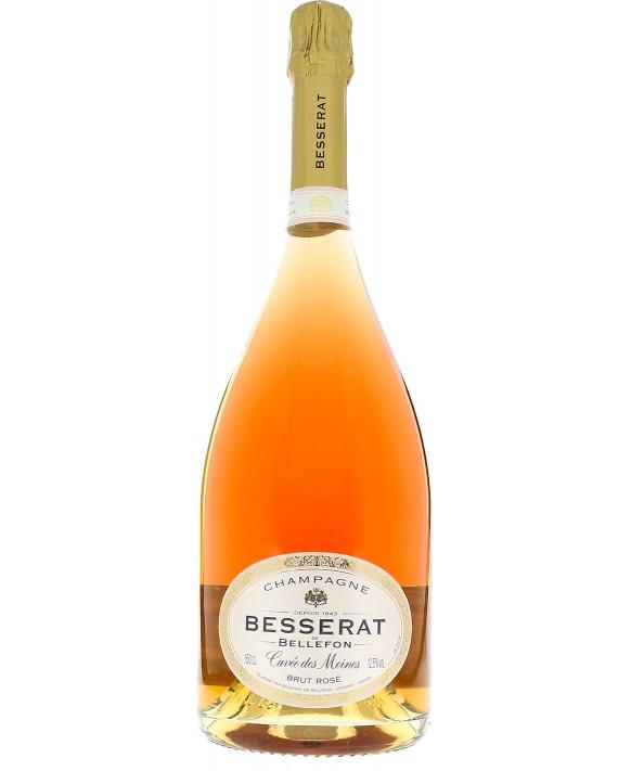 Champagne Besserat De Bellefon Cuvée des Moines Rosé Magnum