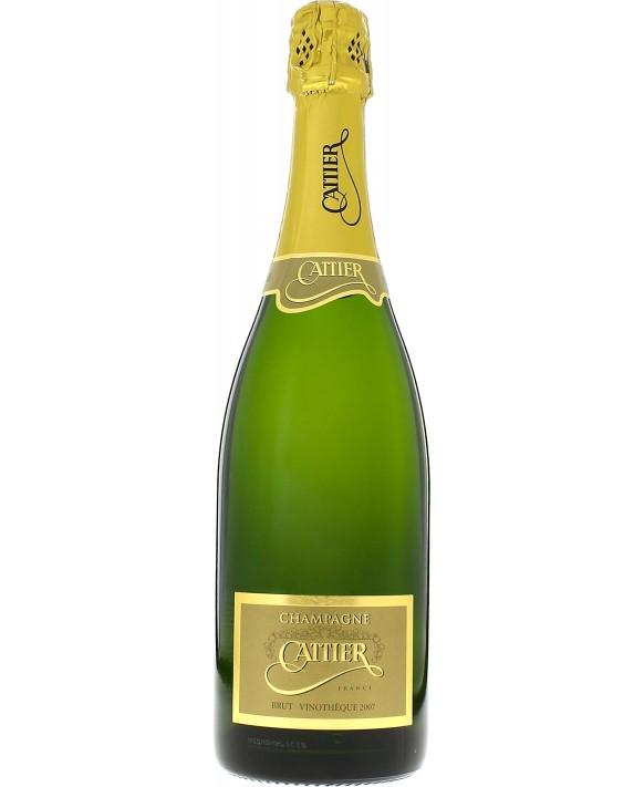 Champagne Cattier Vinothèque 2007 75cl