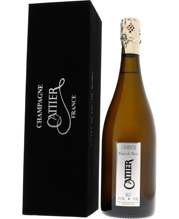 Champagne Cattier Blanc de Noirs Coffret Velours 75cl