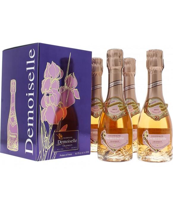 Champagne Demoiselle Quart Rosé Grande Cuvée