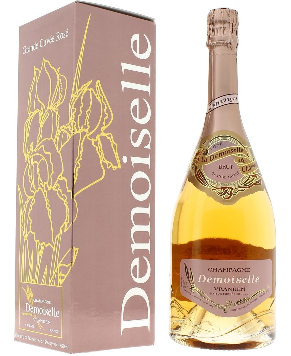 Champagne Demoiselle Rosé Brut Grande Cuvée
