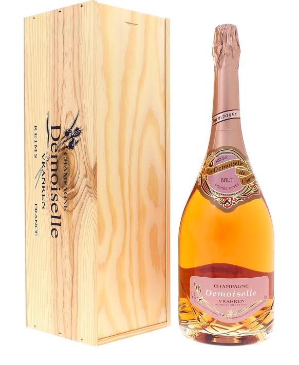 Champagne Demoiselle Rosé Brut Grande Cuvée Jéroboam