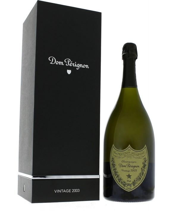 Champagne Dom Perignon Vintage 2003 luxury casket Magnum