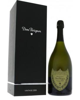 Champagne Dom Perignon Vintage 2003 coffret luxe Magnum