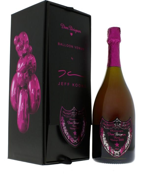 Champagne Dom Perignon Rosé Vintage 2003 Jeff Koons