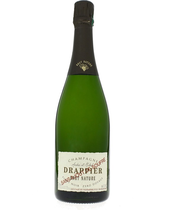 Champagne Drappier Brut Nature with no sulfur