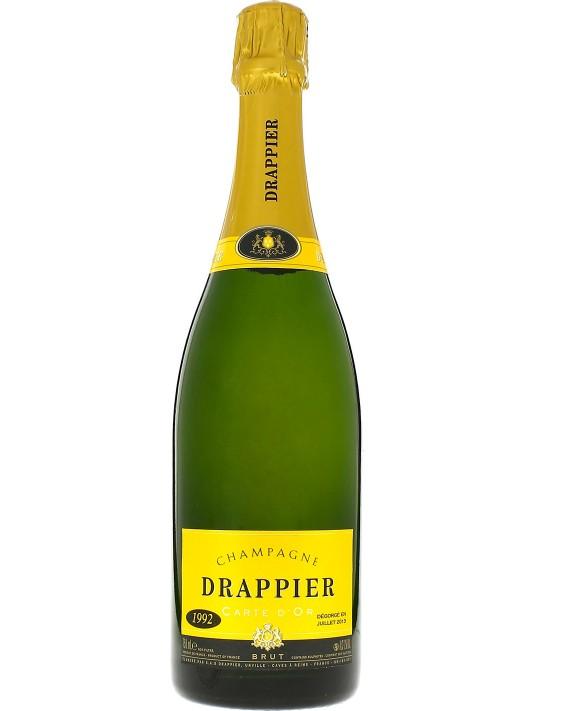 Champagne Drappier Carte d'Or Vintage 1992 75cl