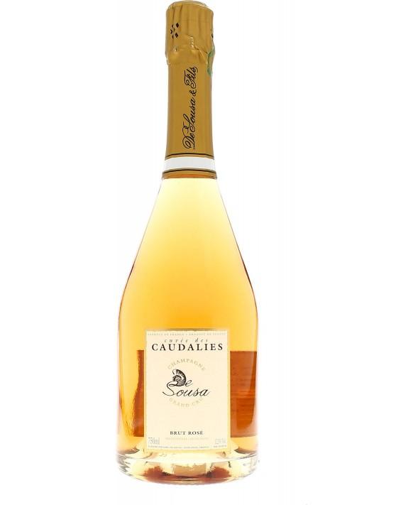Champagne De Sousa Cuvée Caudalies Rosé 75cl