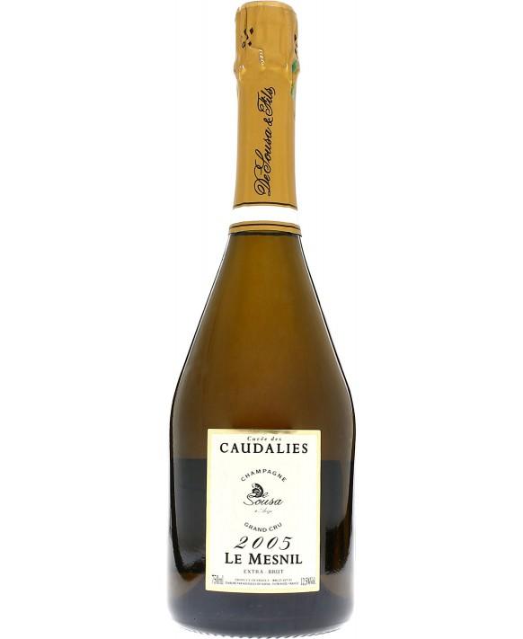 Champagne De Sousa Cuvée Caudalies 2005 Le Mesnil
