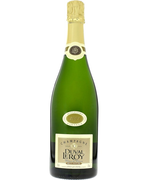 Champagne Duval - Leroy Brut Nature Blanc de Blancs 2002