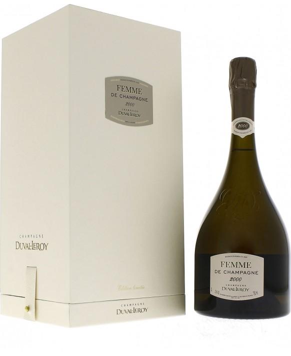 Champagne Duval - Leroy Femme de Champagne 2000 Grand Cru coffret