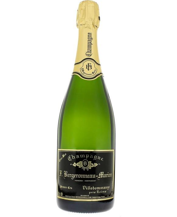 Champagne Bergeronneau Marion Extra-Brut 75cl