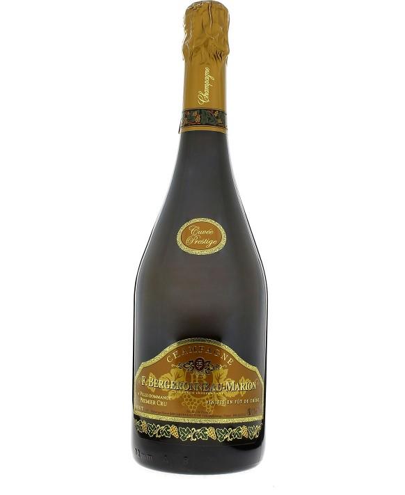 Champagne Bergeronneau Marion Cuvée de Prestige Blanc de Noirs