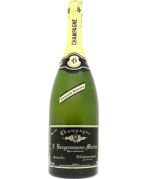 Champagne Bergeronneau Marion Brut Grande Réserve Magnum