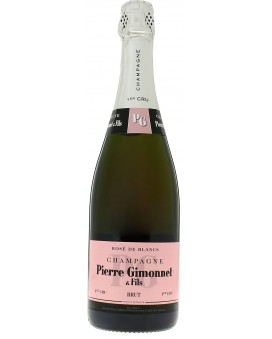 Champagne Pierre Gimonnet Brut 1er Cru Rosé de Blancs