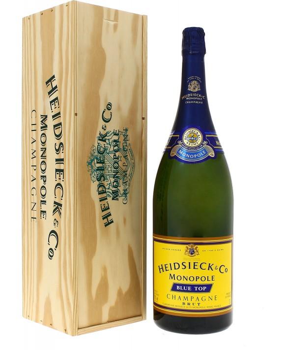 Champagne Heidsieck Blue top Jéroboam